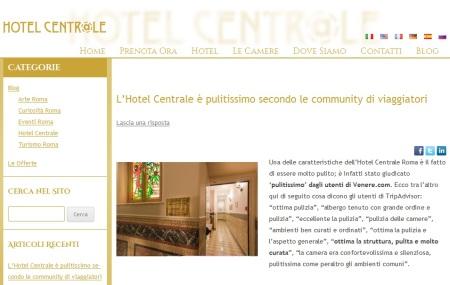 Nuovo blog Hotel Centrale